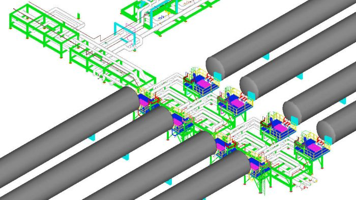 LNG Piping Stress Analysis